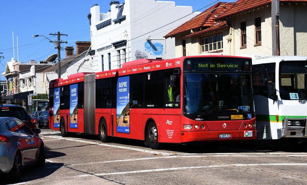 Bus 2169, Drummoyne, Sydney, NSW.