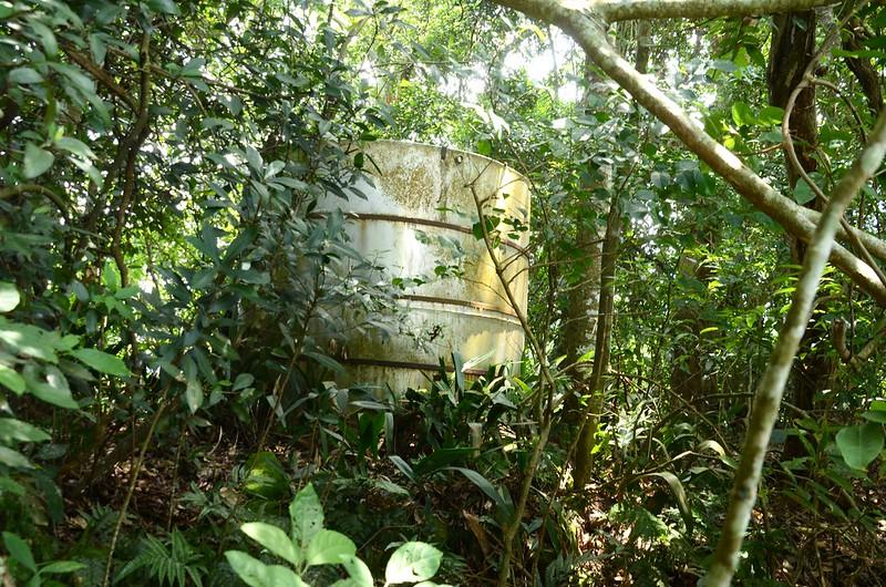 象山稜線蓄水槽.