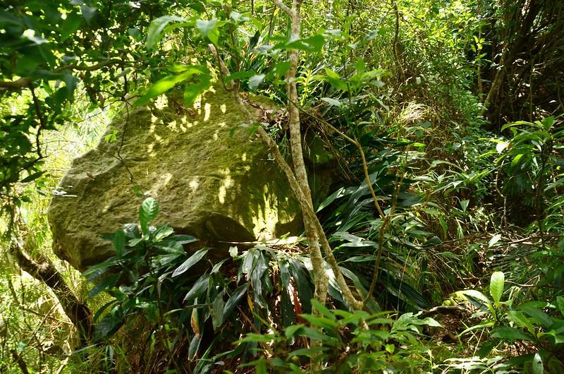 象山稜線路巨石