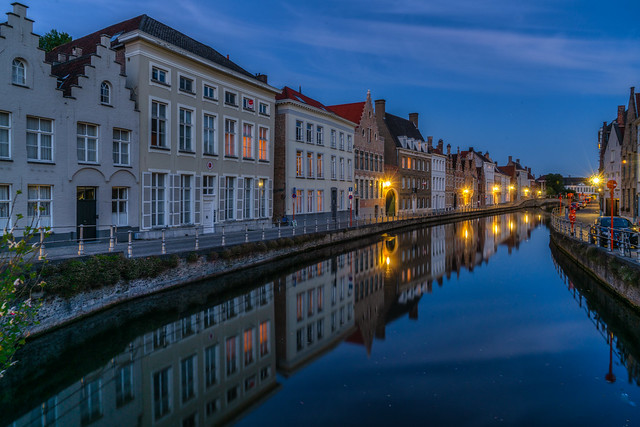 The St Annarei at the blue hour