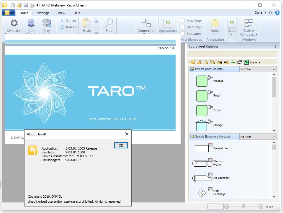 Working with Taro 5.03 full