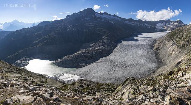 Il ghiacciaio del Rodano (Rhône Glacier) CH