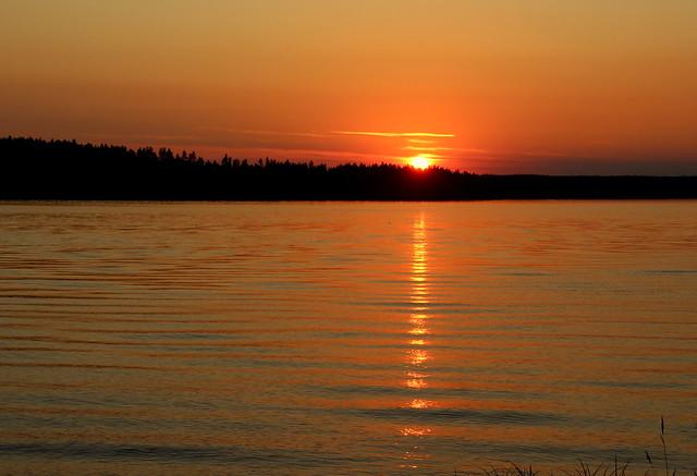 Beautiful summer evening