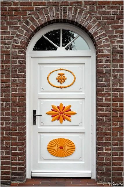 Darßer Tür - Haustür - Door