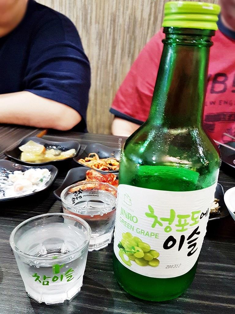 Soju Chamisul Jinro Green Grape