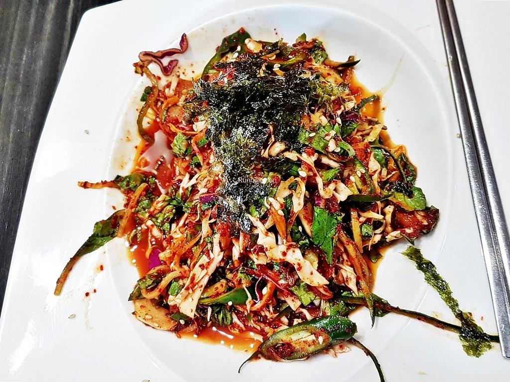 Raw Halibut Seasoned Salad