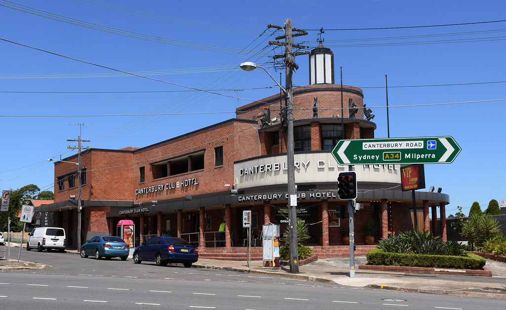 Canterbury Club Hotel, Canterbury, Sydney, NSW.