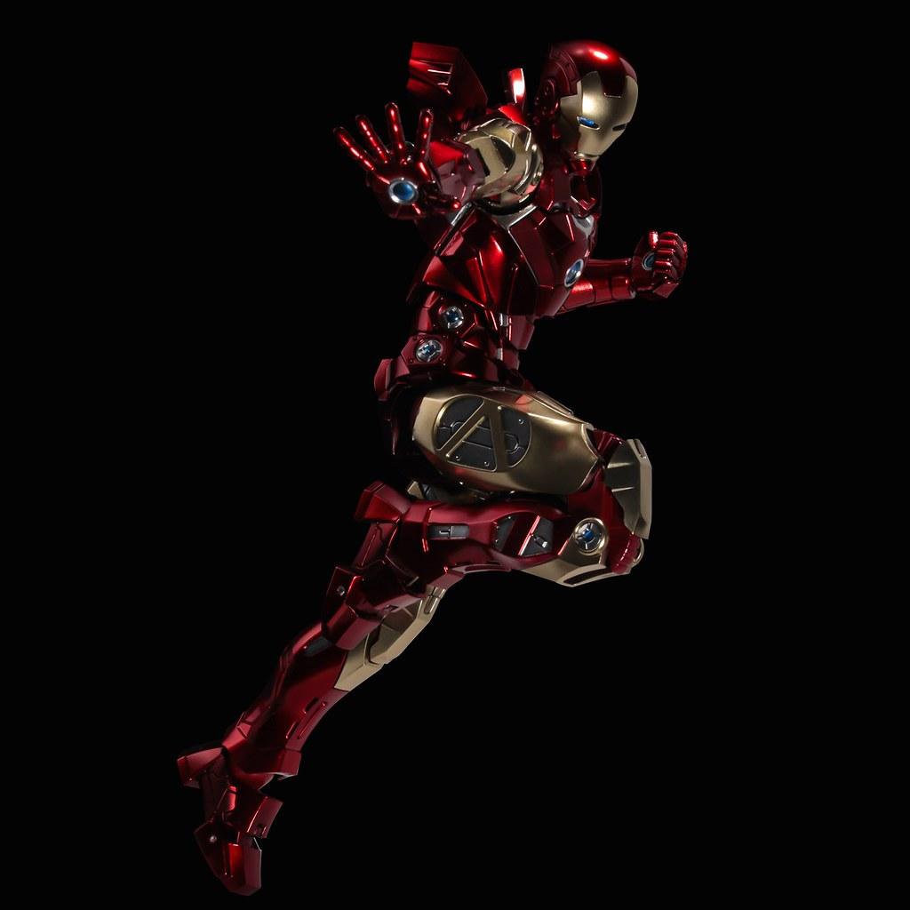 千值練 全新系列 Fighting Armor 首彈「鋼鐵人」漫畫版可動人偶登場!