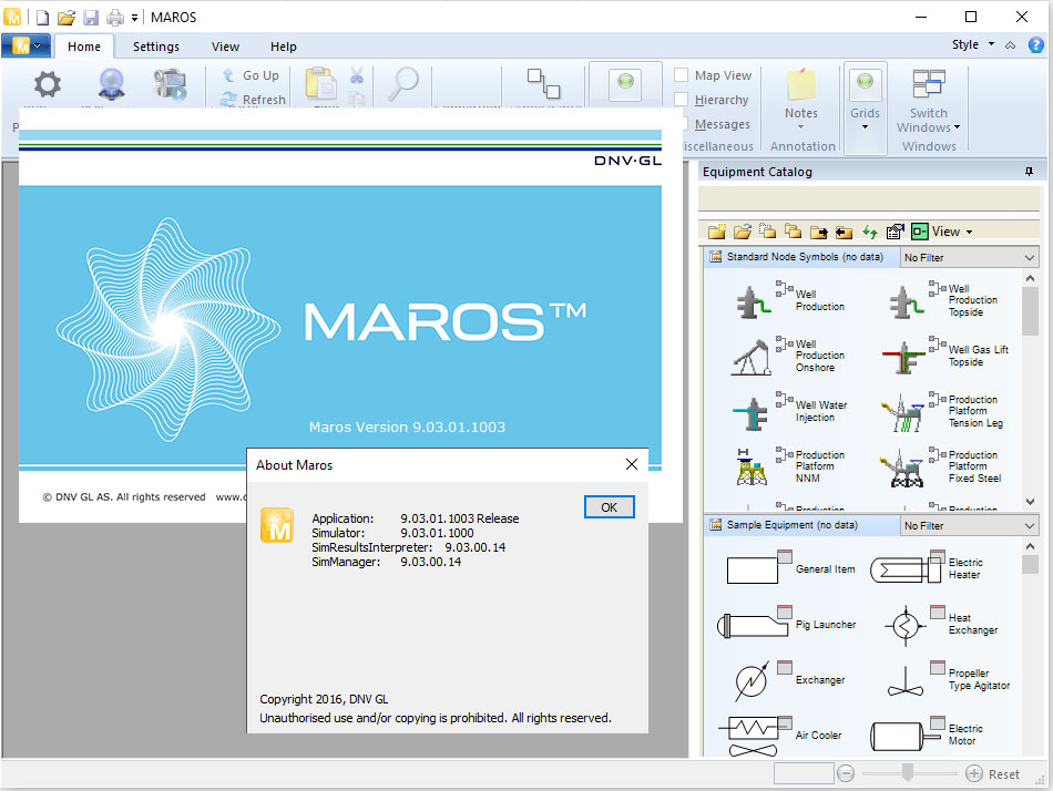 Working with DNV GL Maros 9.03 full