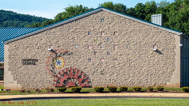Reiffton School Artistic Wall