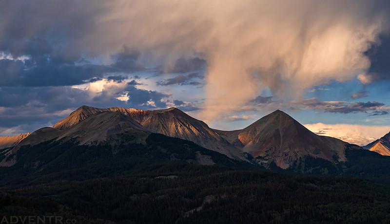 Dolores Peak Virga