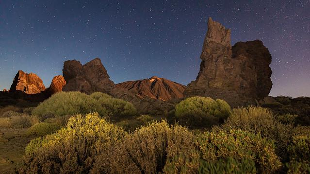Parque Natural Estelar del Teide.