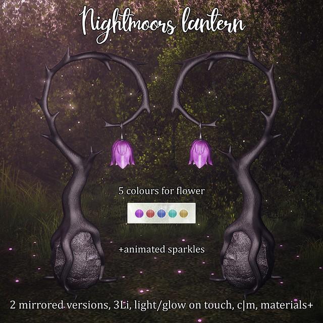 Nightmoors lanterns