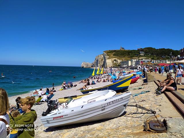 209 - Normandie Juillet 2020 - Etretat sur la plage