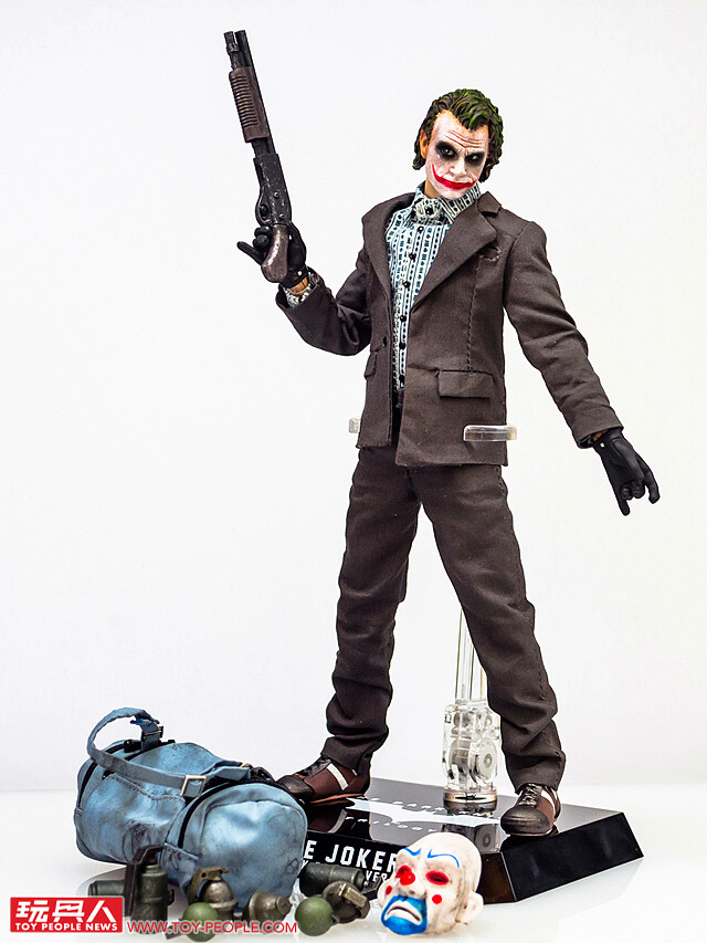 小丑(銀行搶匪版)、小丑 野獸國 D.A.H. 系列年度限定品 開箱報告(下)