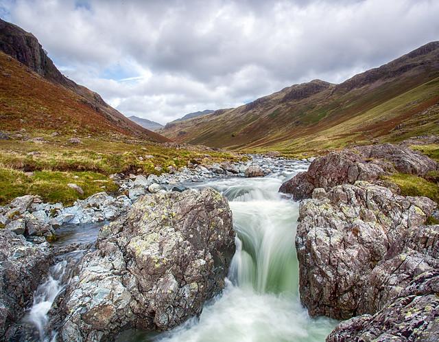 Waterfall, Eskdale..