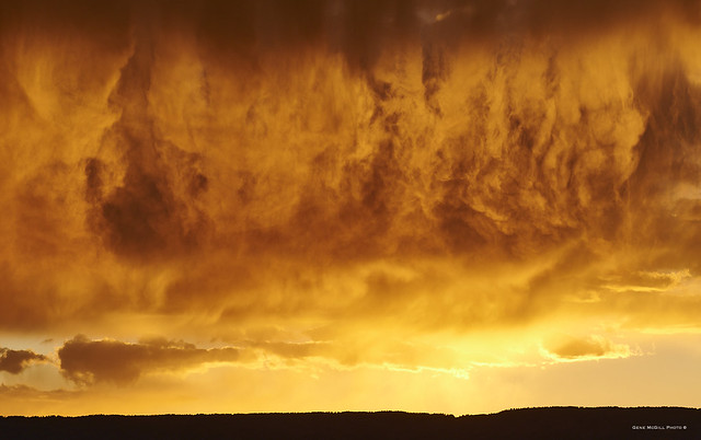Sunset over Grand Mesa