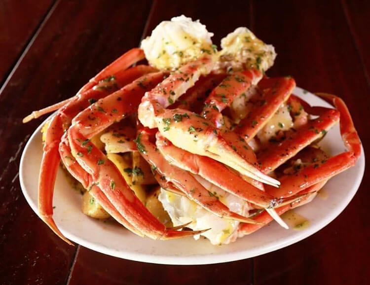 delicious Grilled Crab Legs