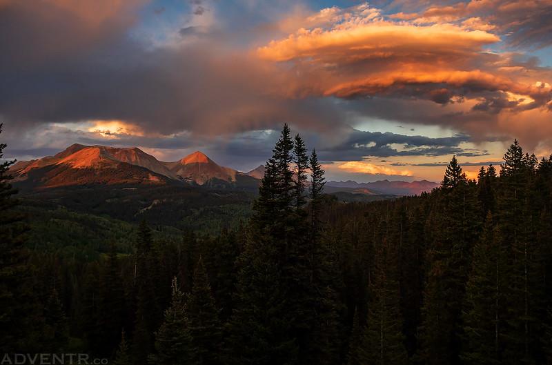 Western Colorado Sky