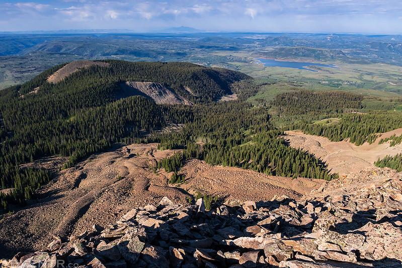 Groundhog Mountain Summit View