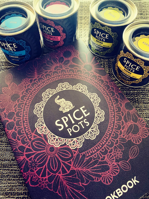 Curry Night with Spice Pots