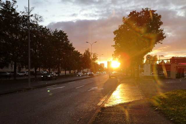 Sunset in Chalon sur Saône