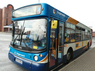 Stagecoach Newcastle 22082 on the 100