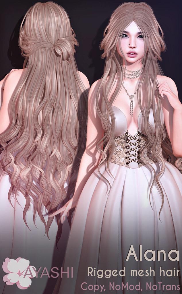 [^.^Ayashi^.^] Alana hair special for Encнanтмenт