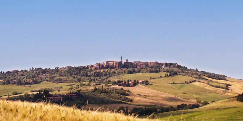 Pienza skyline