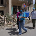 UN personnel joined efforts with local residents in Beirut