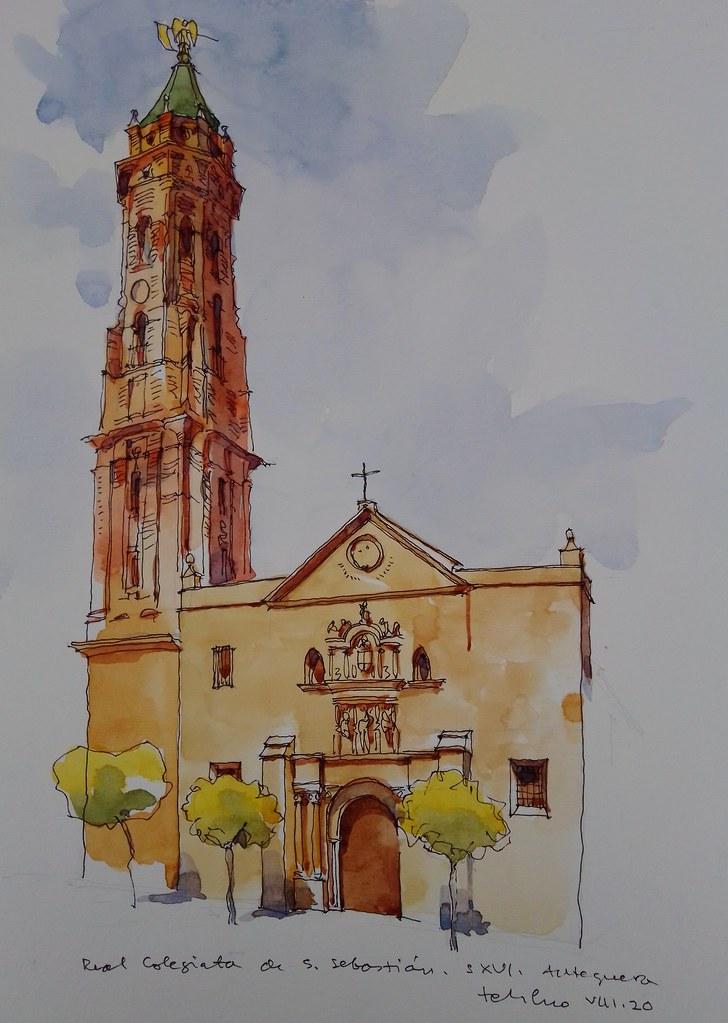 Iglesia de San Sebastián. Antequera