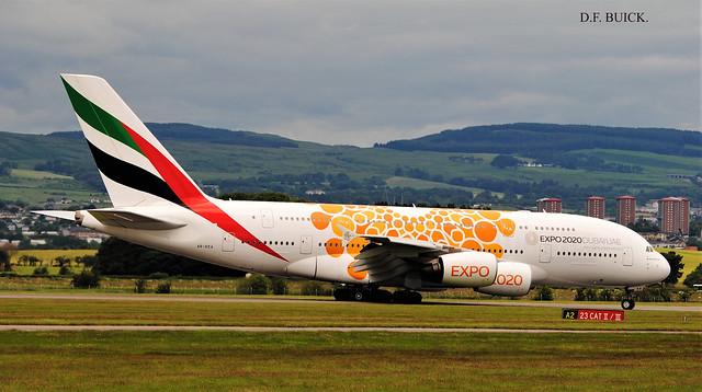 A6-EEA AIRBUS A380
