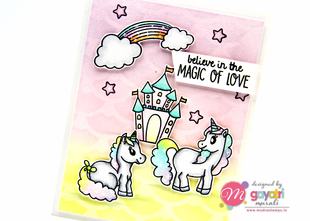 Unicorn card #2 closeup1
