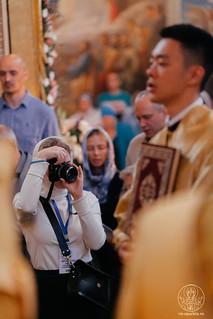 09.08.2020   Литургия в Иверском монастыре