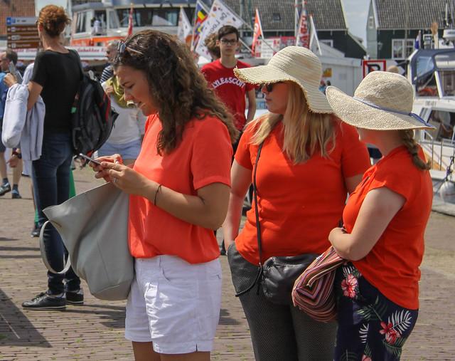 Girls of Orange
