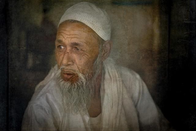 Muslim man in Rajasthan.