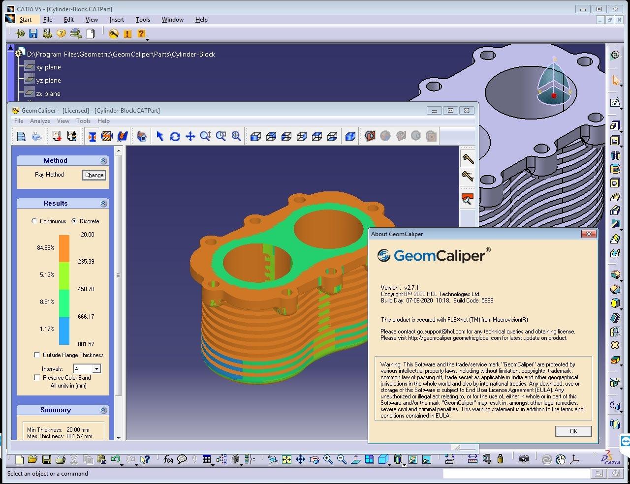 Working with Geometric GeomCaliper 2.7.1 for CATIA V5R26-R30 full license