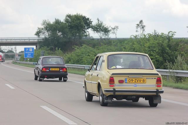 Škoda 120L 'Rapid L' 1983 (09-ZVV-8) & 120LS 1986 (RD-50-HV)