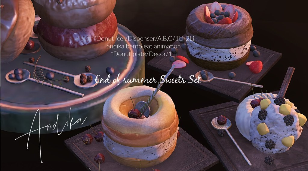 andika[End of summer sweets]Set@equal10