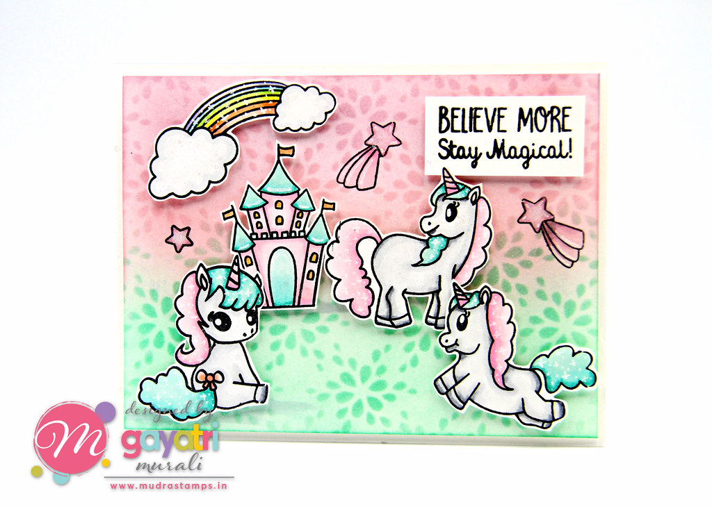 Unicorn card #1a