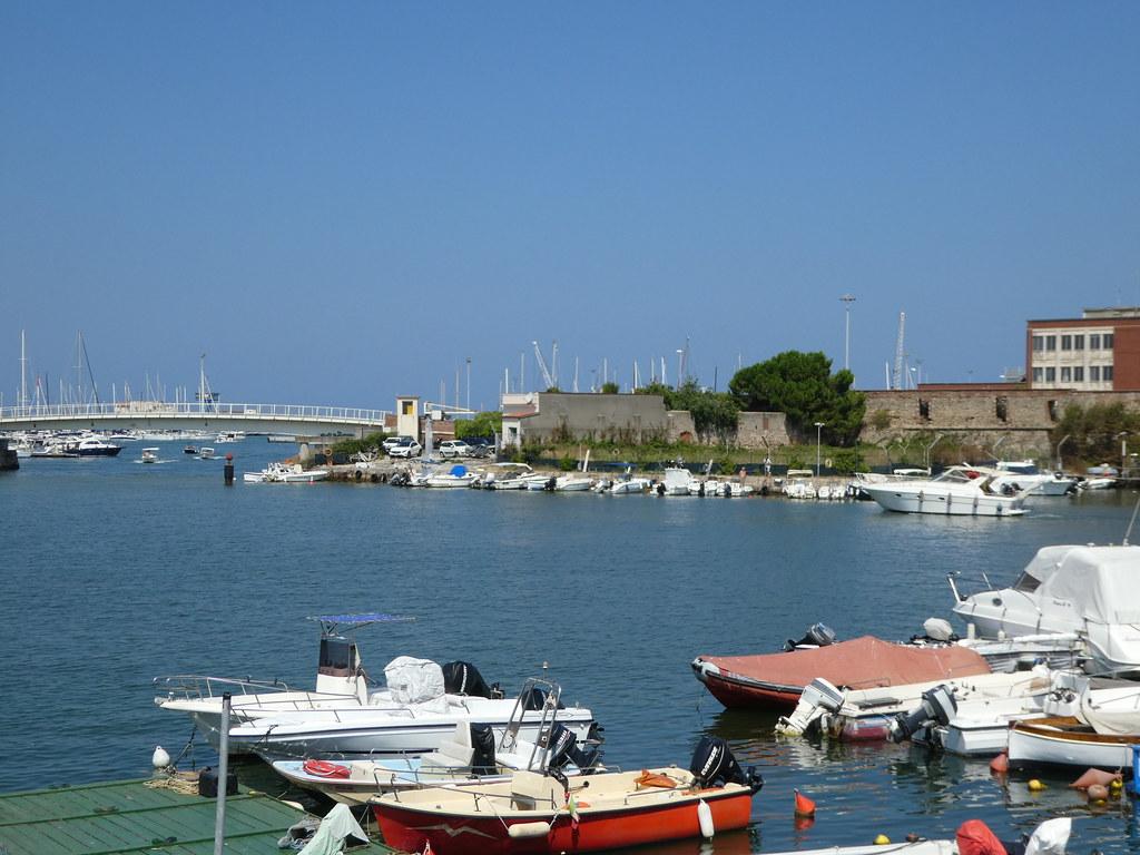 Livorno small boat harbour