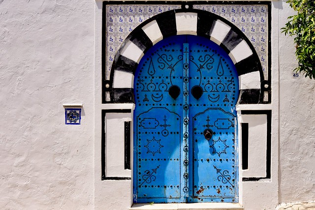 Sidi Bou Saïd, Tunisia