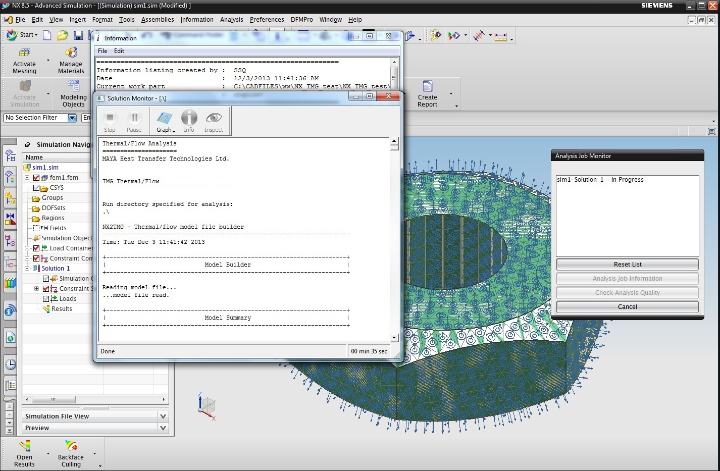 Working with TMG solvers for NX 1847-1872-1899-1926 full