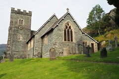 Holy Trinity Church, Chapel Stile, Langdale, Cumbria, UK