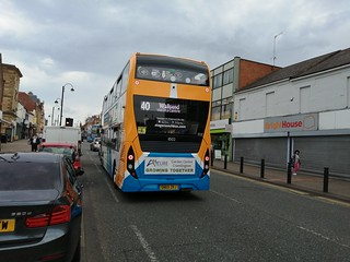 Stagecoach Newcastle 11502 on the 40