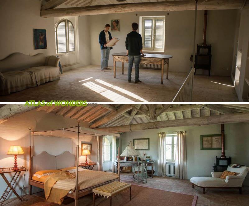 Villa Fontanelle interiors