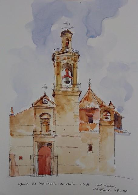 Iglesia de Santa María de Jesús. Antequera