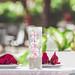 Empty table in outdoor restaurant on Bali island by Artem Beliaikin