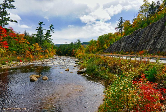 Kancamagus Highway, New Hampshire, USA