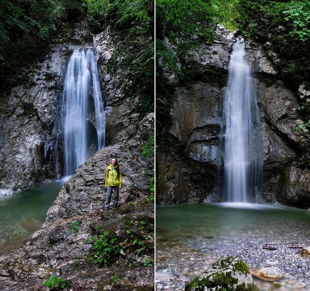 Ribnica Falls, Slovenia